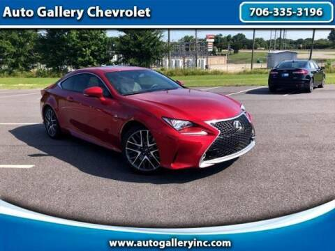 2015 Lexus RC 350 for sale at Auto Gallery Chevrolet in Commerce GA