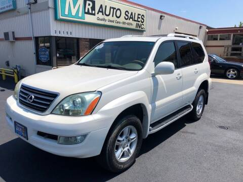 2007 Lexus GX 470 for sale at MR Auto Sales Inc. in Eastlake OH