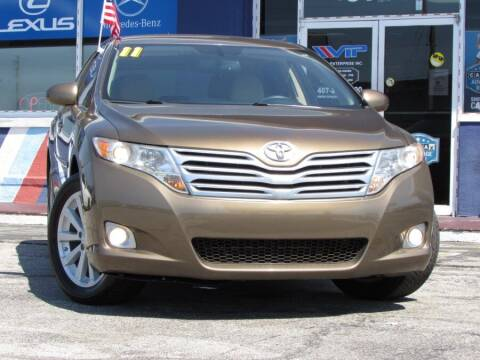 2011 Toyota Venza for sale at VIP AUTO ENTERPRISE INC. in Orlando FL