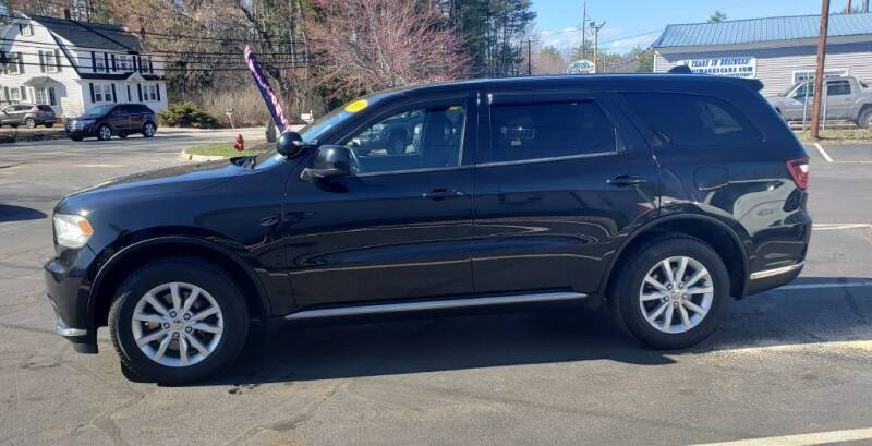 2015 Dodge Durango for sale at Healey Auto in Rochester NH