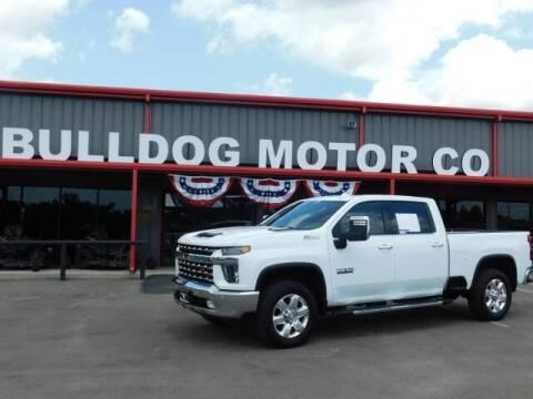 2020 Chevrolet Silverado 2500HD for sale at Bulldog Motor Company in Borger TX