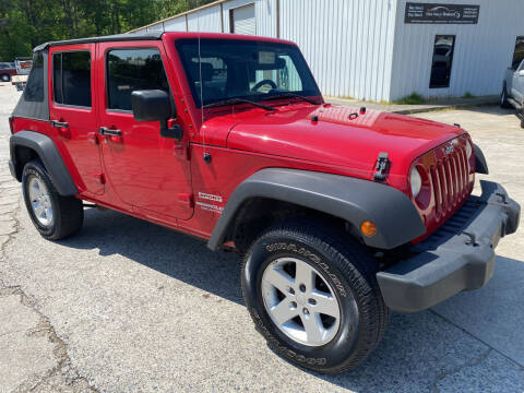 2010 Jeep Wrangler Unlimited for sale at Elite Motor Brokers in Austell GA