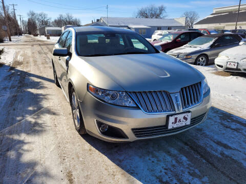 2010 Lincoln MKS for sale at J & S Auto Sales in Thompson ND