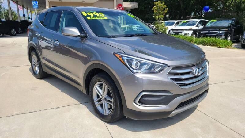 2018 Hyundai Santa Fe Sport for sale at Dunn-Rite Auto Group in Longwood FL