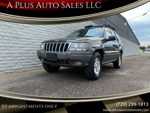 2002 Jeep Grand Cherokee for sale at A Plus Auto Sales LLC in Denver CO