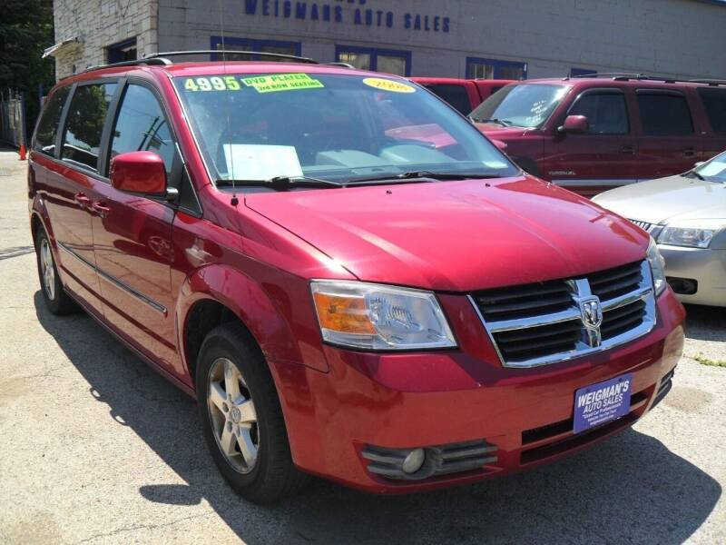 2008 Dodge Grand Caravan for sale at Weigman's Auto Sales in Milwaukee WI