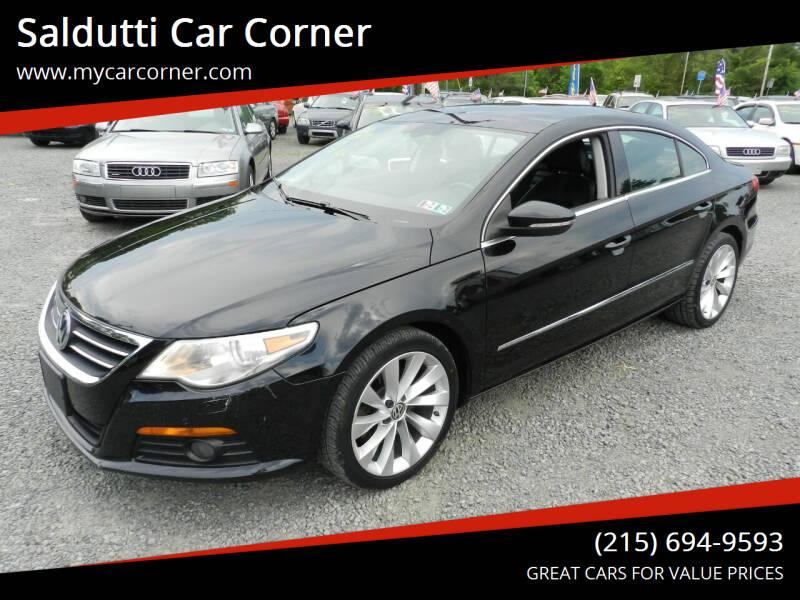 2009 Volkswagen CC for sale at Saldutti Car Corner in Gilbertsville PA