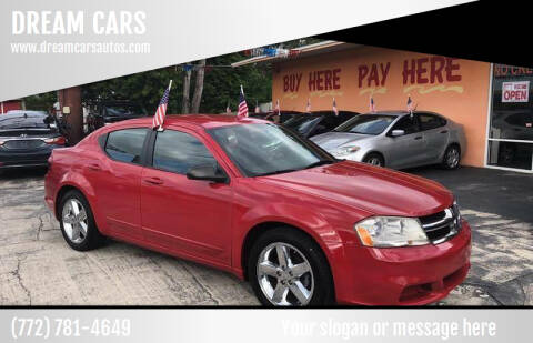 2011 Dodge Avenger for sale at DREAM CARS in Stuart FL