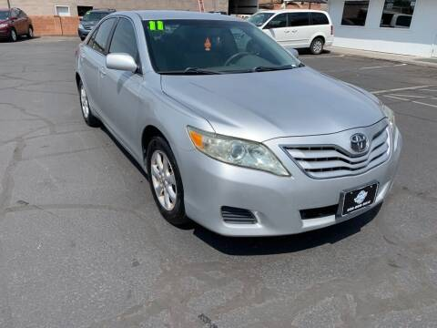 2011 Toyota Camry for sale at Robert Judd Auto Sales in Washington UT
