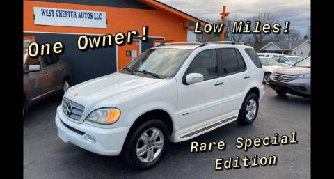 2005 Mercedes-Benz M-Class for sale at West Chester Autos in Hamilton OH