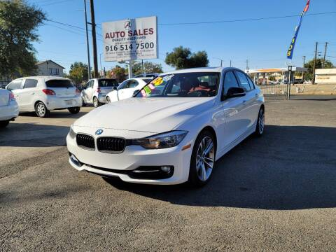 2012 BMW 3 Series for sale at A1 Auto Sales in Sacramento CA