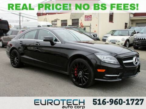 2014 Mercedes-Benz CLS for sale at EUROTECH AUTO CORP in Island Park NY