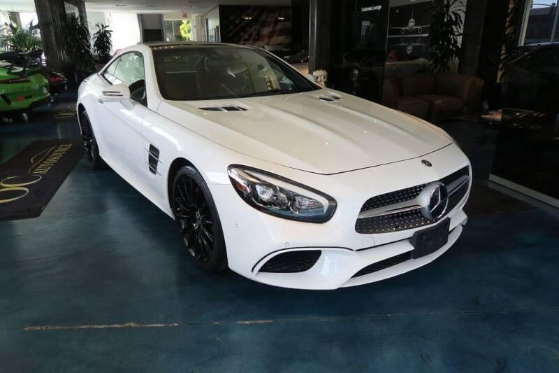2018 Mercedes-Benz SL-Class for sale at OC Autosource in Costa Mesa CA