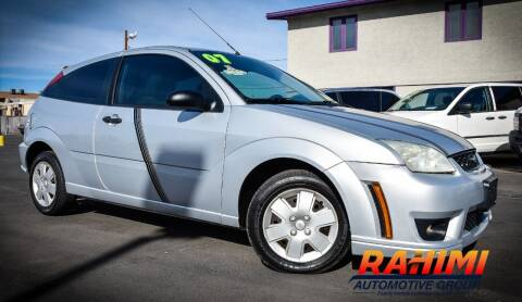 2007 Ford Focus for sale at Rahimi Automotive Group in Yuma AZ