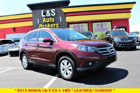 2013 Honda CR-V for sale at L & S AUTO BROKERS in Fredericksburg VA