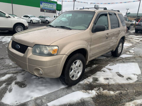 2007 Ford Escape for sale at Independent Auto Sales #2 in Spokane WA