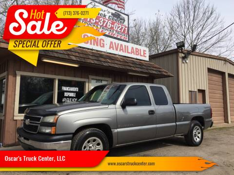 2007 Chevrolet Silverado 1500 Classic for sale at Oscar's Truck Center, LLC in Houston TX