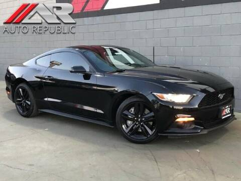2017 Ford Mustang for sale at Auto Republic Fullerton in Fullerton CA