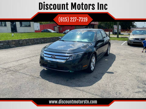 2012 Ford Fusion for sale at Discount Motors Inc in Nashville TN