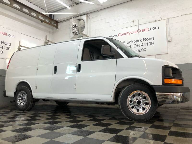 2009 GMC Savana Cargo for sale at County Car Credit in Cleveland OH