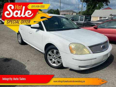 2007 Ford Five Hundred for sale at Integrity Auto Sales in Brownsburg IN