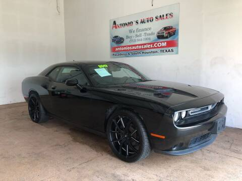 2017 Dodge Challenger for sale at Antonio's Auto Sales in South Houston TX
