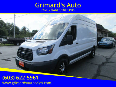 2018 Ford Transit Cargo for sale at Grimard's Auto in Hooksett NH