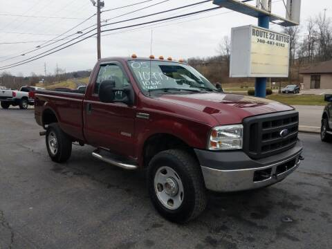 2005 Ford F-350 Super Duty for sale at Route 22 Autos in Zanesville OH