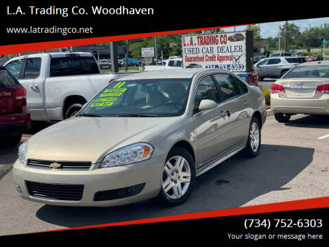 2011 Chevrolet Impala for sale at L.A. Trading Co. Woodhaven in Woodhaven MI