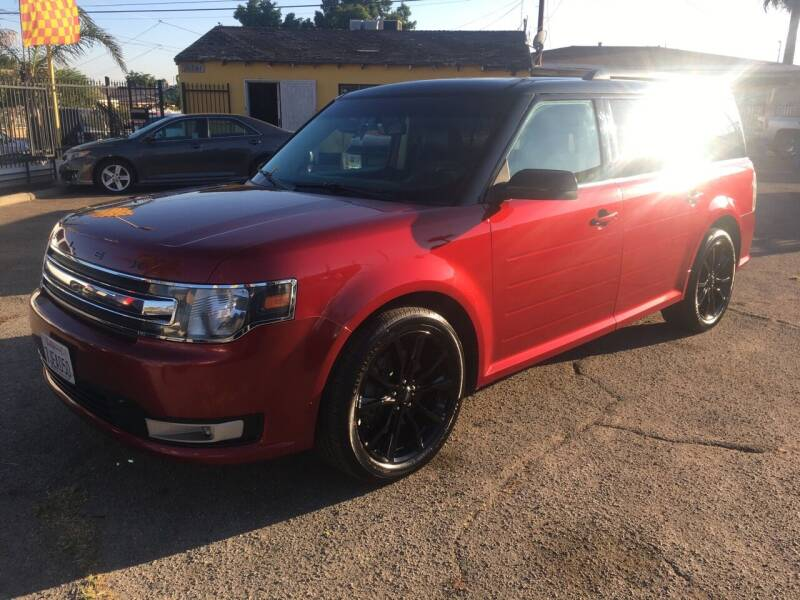 2014 Ford Flex for sale at JR'S AUTO SALES in Pacoima CA