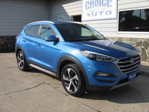 2017 Hyundai Tucson for sale at Choice Auto in Carroll IA