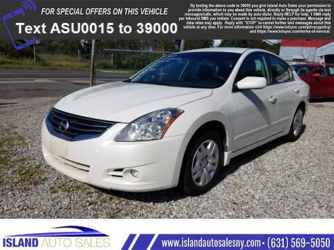 2010 Nissan Altima for sale at Island Auto Sales in E.Patchogue NY