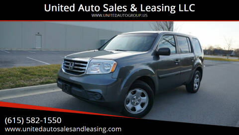 2013 Honda Pilot for sale at United Auto Sales & Leasing LLC in La Vergne TN