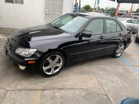 2003 Lexus IS 300 for sale at Olympic Motors in Los Angeles CA