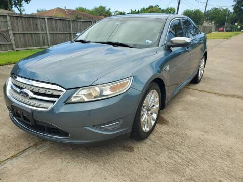 2010 Ford Taurus for sale at MOTORSPORTS IMPORTS in Houston TX