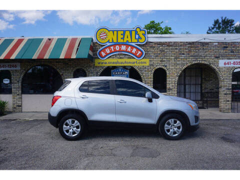 2016 Chevrolet Trax for sale at Oneal's Automart LLC in Slidell LA