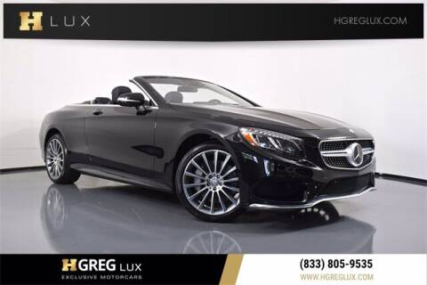 2017 Mercedes-Benz S-Class for sale at HGREG LUX EXCLUSIVE MOTORCARS in Pompano Beach FL
