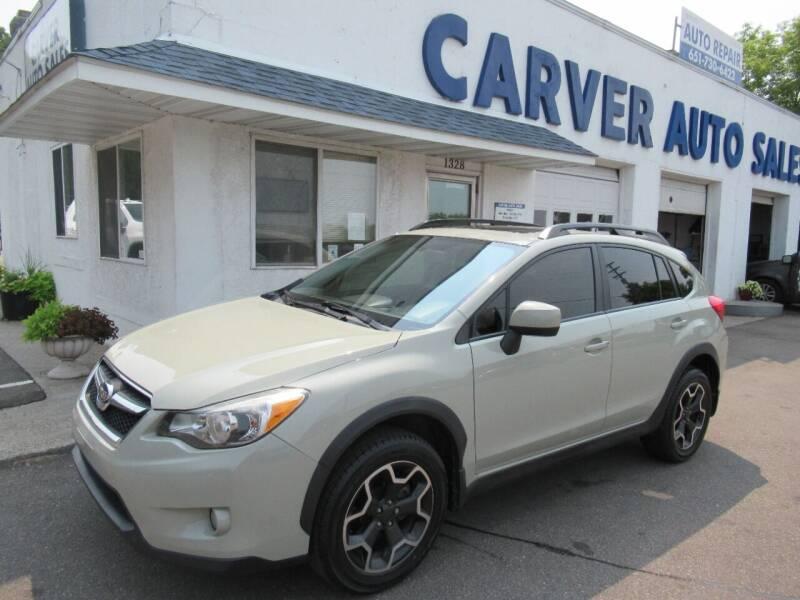 2014 Subaru XV Crosstrek for sale at Carver Auto Sales in Saint Paul MN