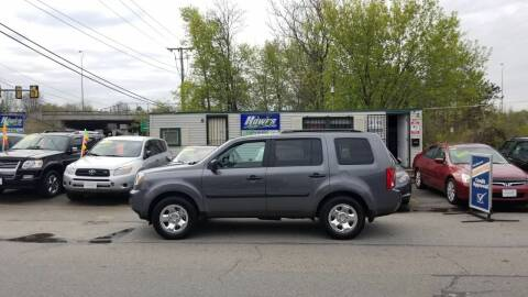 2011 Honda Pilot for sale at Howe's Auto Sales in Lowell MA