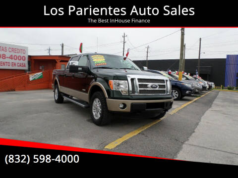 2012 Ford F-150 for sale at Los Parientes Auto Sales in Houston TX