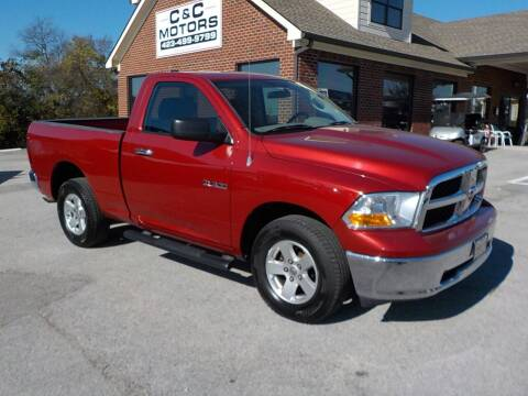 2010 Dodge Ram Pickup 1500 for sale at C & C MOTORS in Chattanooga TN