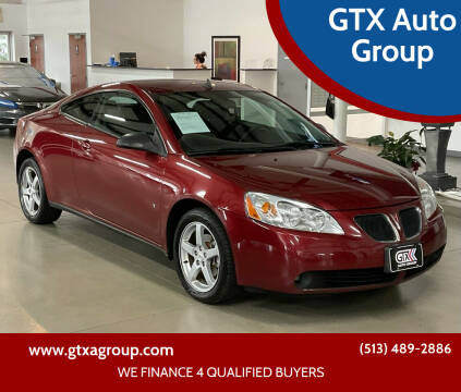 2009 Pontiac G6 for sale at GTX Auto Group in West Chester OH