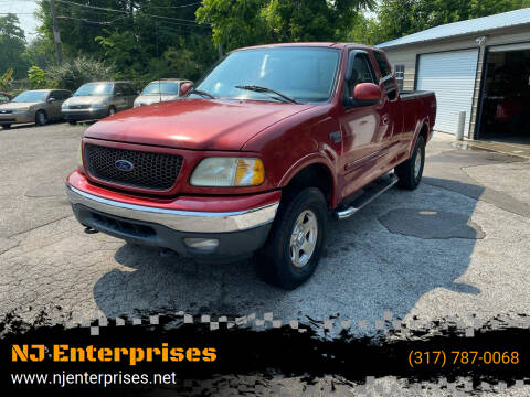 2003 Ford F-150 for sale at NJ Enterprises in Indianapolis IN
