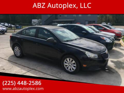 2011 Chevrolet Cruze for sale at ABZ Autoplex, LLC in Baton Rouge LA
