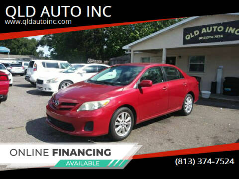 2011 Toyota Corolla for sale at QLD AUTO INC in Tampa FL