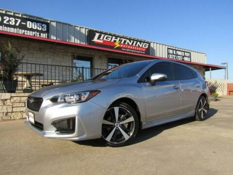 2017 Subaru Impreza for sale at Lightning Motorsports in Grand Prairie TX