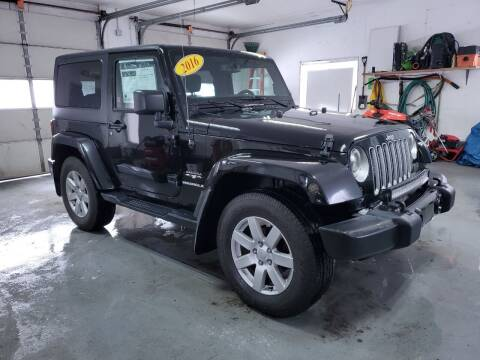 2016 Jeep Wrangler for sale at Drive Motor Sales in Ionia MI