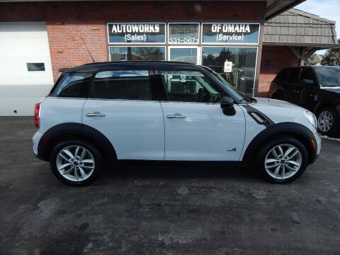2012 MINI Cooper Countryman for sale at AUTOWORKS OF OMAHA INC in Omaha NE