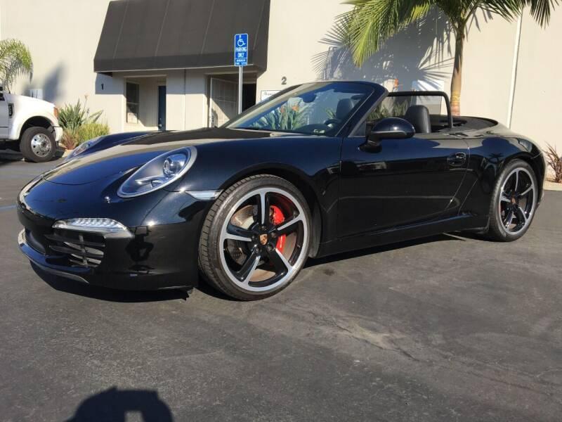 2014 Porsche 911 for sale at MANGIONE MOTORS ORANGE COUNTY in Costa Mesa CA