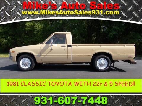 1981 Toyota Pickup for sale at Mike's Auto Sales in Shelbyville TN
